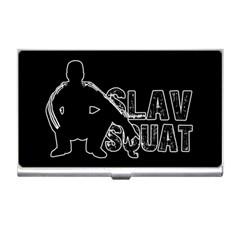 Slav Squat Business Card Holders by Valentinaart