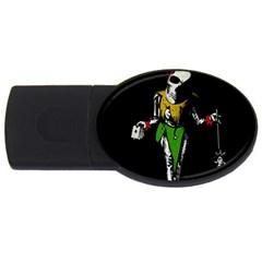 Joker  Usb Flash Drive Oval (4 Gb)