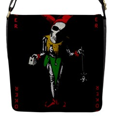 Joker  Flap Messenger Bag (s) by Valentinaart