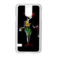 Joker  Samsung Galaxy S5 Case (white) by Valentinaart