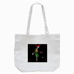 Joker  Tote Bag (white) by Valentinaart