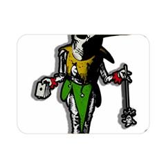 Joker  Double Sided Flano Blanket (mini)  by Valentinaart