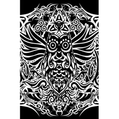 Tattoo Tribal Owl 5 5  X 8 5  Notebooks by Valentinaart