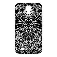 Tattoo Tribal Owl Samsung Galaxy Mega 6 3  I9200 Hardshell Case by Valentinaart