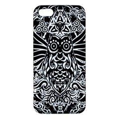 Tattoo Tribal Owl Iphone 5s/ Se Premium Hardshell Case by Valentinaart