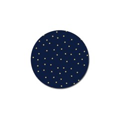 Navy/gold Stars Golf Ball Marker (10 Pack) by Colorfulart23