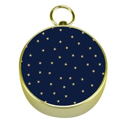 Navy/gold Stars Gold Compasses by Colorfulart23