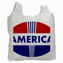 America  Recycle Bag (one Side) by Colorfulart23
