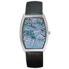 Another Modern Moment Aqua Barrel Style Metal Watch by MoreColorsinLife