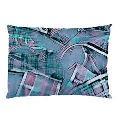 Another Modern Moment Aqua Pillow Case by MoreColorsinLife