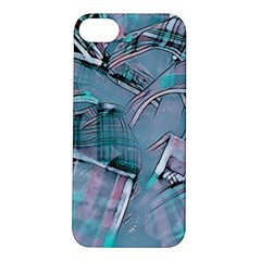 Another Modern Moment Aqua Apple Iphone 5s/ Se Hardshell Case by MoreColorsinLife