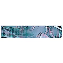 Another Modern Moment Aqua Flano Scarf (small) by MoreColorsinLife
