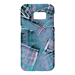Another Modern Moment Aqua Samsung Galaxy S7 Hardshell Case  by MoreColorsinLife
