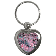 Another Modern Moment Pink Key Chains (heart)