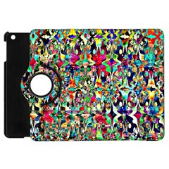 Psychedelic Background Apple Ipad Mini Flip 360 Case by Colorfulart23