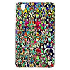 Psychedelic Background Samsung Galaxy Tab Pro 8 4 Hardshell Case by Colorfulart23