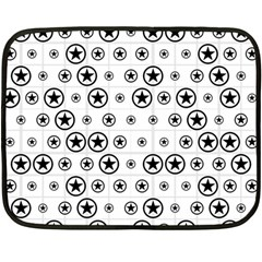 Army Stars Fleece Blanket (mini) by linceazul
