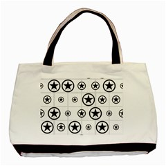 Army Stars Basic Tote Bag (two Sides) by linceazul