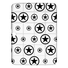 Army Stars Samsung Galaxy Tab 3 (10 1 ) P5200 Hardshell Case  by linceazul