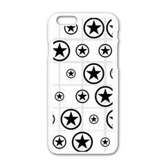 Army Stars Apple Iphone 6/6s White Enamel Case by linceazul