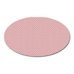 Kisspattern 01 Oval Magnet by paulaoliveiradesign
