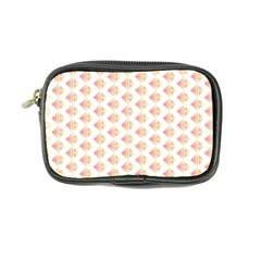 Geometric Losangle Pattern Rosy Coin Purse by paulaoliveiradesign