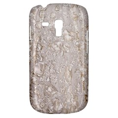 Off White Lace Pattern Galaxy S3 Mini by paulaoliveiradesign