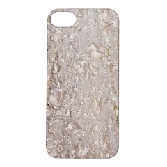 Off White Lace Pattern Apple Iphone 5s/ Se Hardshell Case by paulaoliveiradesign