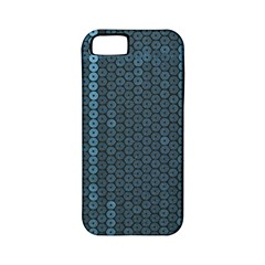 Blue Sparkly Sequin Texture Apple Iphone 5 Classic Hardshell Case (pc+silicone) by paulaoliveiradesign