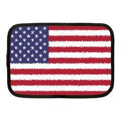 Flag Of The United States America Netbook Case (medium)  by paulaoliveiradesign