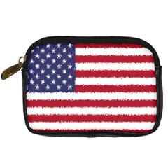 Flag Of The United States America Digital Camera Cases by paulaoliveiradesign