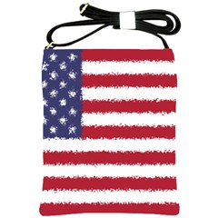 Flag Of The United States America Shoulder Sling Bags