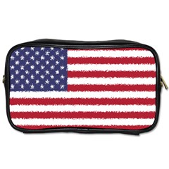 Flag Of The United States America Toiletries Bags by paulaoliveiradesign