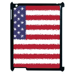Flag Of The United States America Apple Ipad 2 Case (black) by paulaoliveiradesign
