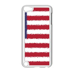 Flag Of The United States America Apple Ipod Touch 5 Case (white) by paulaoliveiradesign