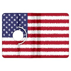 Flag Of The United States America Kindle Fire Hdx Flip 360 Case by paulaoliveiradesign