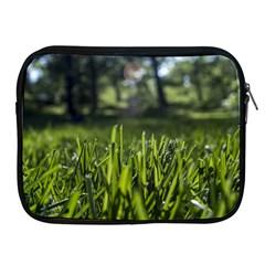 Green Grass Field Apple Ipad 2/3/4 Zipper Cases by paulaoliveiradesign