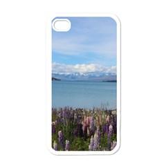Lake Tekapo New Zealand Landscape Photography Apple Iphone 4 Case (white) by paulaoliveiradesign
