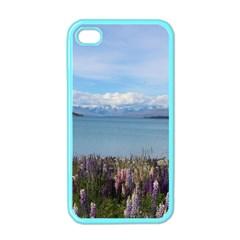 Lake Tekapo New Zealand Landscape Photography Apple Iphone 4 Case (color) by paulaoliveiradesign