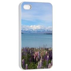 Lake Tekapo New Zealand Landscape Photography Apple Iphone 4/4s Seamless Case (white) by paulaoliveiradesign