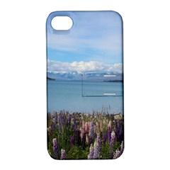 Lake Tekapo New Zealand Landscape Photography Apple Iphone 4/4s Hardshell Case With Stand by paulaoliveiradesign
