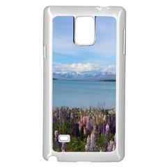 Lake Tekapo New Zealand Landscape Photography Samsung Galaxy Note 4 Case (white) by paulaoliveiradesign