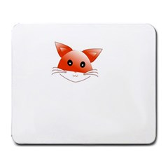 Animal Image Fox Large Mousepads by BangZart