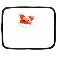 Animal Image Fox Netbook Case (xxl)  by BangZart
