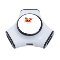 Animal Image Fox 3 Port Usb Hub
