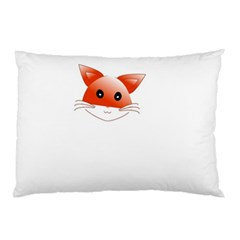 Animal Image Fox Pillow Case (two Sides)
