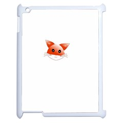 Animal Image Fox Apple Ipad 2 Case (white)