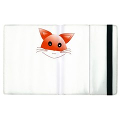 Animal Image Fox Apple Ipad 2 Flip Case by BangZart