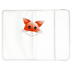 Animal Image Fox Samsung Galaxy Tab 7  P1000 Flip Case by BangZart