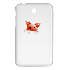 Animal Image Fox Samsung Galaxy Tab 3 (7 ) P3200 Hardshell Case  by BangZart